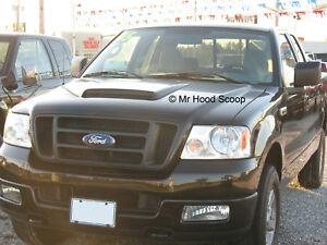 2004-2008 Hood Scoop for FORD F150 By MrHoodScoop UNPAINTED HS009