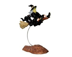 """LEMAX  Spooky Town 22005 """"OUT-OF-CONTROL WITCH"""" Halloween Neu"""