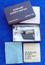 "Schrade USA made Schrade Knife Care Kit""- SAK-1"