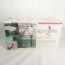 KozyFill Automatic Bird Bath Filler Model 7KF Uses Gravity Not Electric