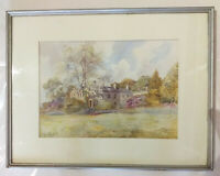 The Knells, Cumbria. Original watercolour painting by HF Stewart + another.