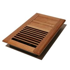 Decor Grates Wl610W-N 6-Inch by 10-Inch Wood Wall Register, Natural Oak, New, Fr