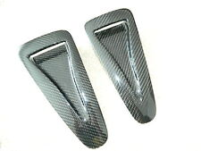 Carbon suplementarias capó air vents intakes adecuado para Nissan GTR r35