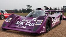 1/10 Unpainted 1991 Jaguar XJR-14 Silk Cut Group C RC Body Car for TT01 Chassis