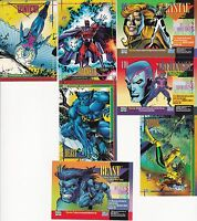 1993 SKYBOX MARVEL UNIVERSE SERIES 4 SINGLES 1 - 179 YOU PICK 3 CARDS