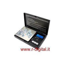 BILANCINO DIGITALE DI PRECISIONE 100Gr 0.01Gr PORTATILE LED BILANCIA TASCABILE