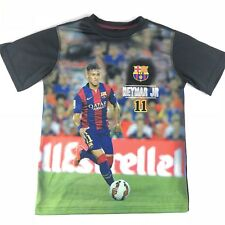 FCB Barcelona NEYMAR Da Silva Santos Jr. #11 Soccer Shirt Youth Large Fifa