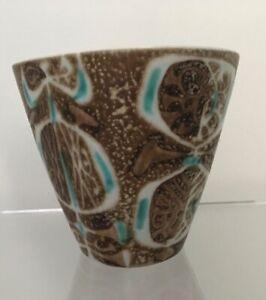 Royal Copenhagen, Nils Thorsson, small flared Danish Design vase.  Mid Century