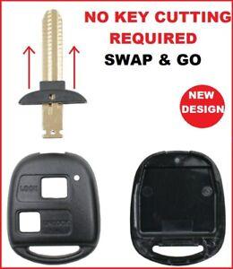 Car Key Shell Suitable for Toyota Corolla Rav4 Prado Tarago Kluger Echo Avensis