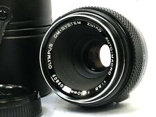 [Mint in case] Olympus OM-SYSTEM ZUIKO MC AUTO-MACRO 50mm f/3.5 MF Lens JAPAN