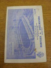 26/04/1965 GENNAIO V CHELMSFORD CITY [Ray Pitt & BARRY Cappi vantaggio/REG sheward