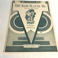 Sheet004 Sheet Music Piano Guitar  Band Played On Chas B. Ward John F. Palmer