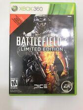 Battlefield 3 -- Limited Edition (Microsoft Xbox 360, 2011) Read Description