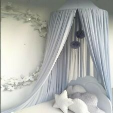 Kids Baby Bed Canopy Bedcover Mosquito Net Curtain Bedding DIY Dome Tent Cotton