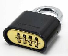 Resettable Kingsley 22L Combo Lock (Combination Padlock) Hardened Steel Shackle