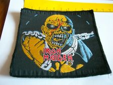 IRON MAIDEN – very rare old 80s PIECE OF MIND, UNCUT Patch!!!
