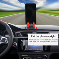 Silicone Car Holder Anti-Slip Mat Mount Desktop Stand Bracket for Mobile Phone F