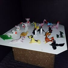 Miniature glass animal figurines Lot