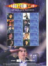 BC147 DR WHO - CAPTAIN JACK HARKNESS - Smilers Stamp Sheet