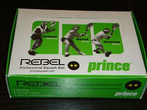 Prince Rebel Squash Balls