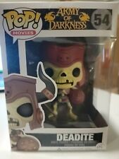 Funko Pop Movies Deadite #54 Army of Darkness Vaulted Rare Htf Evil Dead