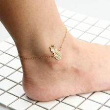Ankle Bracelet Women'S Gold Pineapple