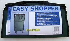 EASY SHOPPER faltbare geräumige Einkaufstasche 62 x 34,5 x 16 cm grün
