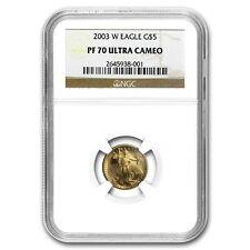 2003-W 1/10 oz Proof Gold American Eagle PF-70 NGC - SKU #19331