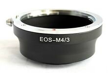 Canon EOS EF EF-S to Micro 4/3 M4/3 M43 Lens Mount Adapter GX1 EP3 OM-D EF-M43