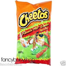 Cheetos Crunchy Flamin Hot Limon Cheese Flavored Snacks 8.5 oz