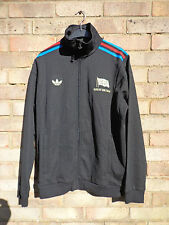ADIDAS ORIGINALS TEAM GB LARGE BLACK TRACKSUIT TOP RARE 1/150 LIMITED EDITION