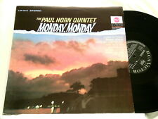 PAUL HORN Monday Monday Oliver Nelson German RCA LP
