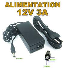 616# Alimentation à découpage 220 / 12V 3A  36w connecteur 5,5x2,1mm
