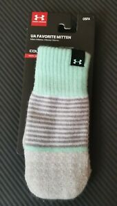 Under Armour UA Favorite Mittens Girls Youth 132308-095 NWT One Size OSFA