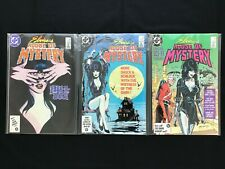 ELVIRA'S HOUSE OF MYSTERY Lot of 3 DC Comic Books - #4 5 7!