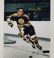 WILLIE O'REE Autograph BOSTON BRUINS HOF signed 8x10 Photo #4 OC COA + Hologram