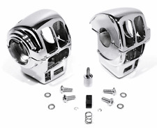 Chrome Switch Casing for Harley Davidson Road King Bike Cruise Control