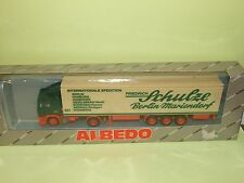 CAMION VOLVO F12 INTERNATIONALE SPEDITION SCHULZE ALBEDO HO 1:87