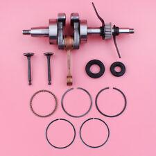 Crankshaft Crank Oil Seal Valve Piston Ring Set For Honda GX35 35CC Engine Motor