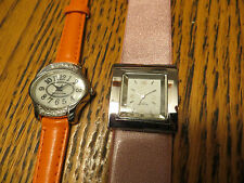 New Old Stock LeJour Lot of 2 SAMPLE DUMMY WATCHES FOR REPAIR PARTS Sport Spain