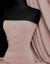 Silk Touch 4 Way Stretch Lycra Fabric- Tea Rose Q53 TRS
