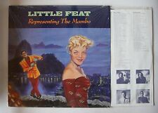 Little Feat Representing The Mambo US LP 1990 + Innerbag