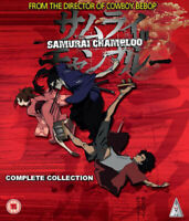 Samurai Champloo: Collection DVD (2014) Shinichiro Watanabe cert 15 3 discs