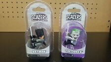 """NECA Scalers Batman and The Joker 2"""" Figure Lot of 2, New and Sealed"""