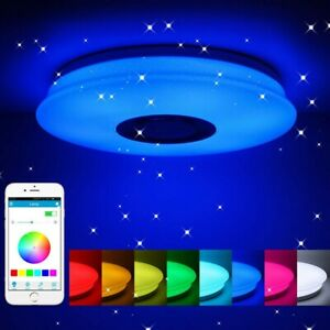 RGB LED Plafoniera Lampada da Soffitto APP bluetooth Dimmerabile Telecomando
