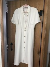 Lovely Cream Zara Dress Size Xl. Bloggers Fav. Sold Out Online.