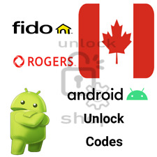 Fido / Rogers Canada Factory Unlock Service for Android