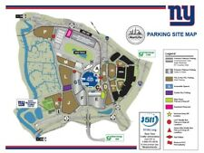 NEW YORK GIANTS vs LOS ANGELES RAMS PARKING - 10/17  - GOLD LOTS!!!