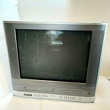 """Toshiba Mw20F52 20"""" Stereo Crt Tv/Dvd/Vcr Combo Video Gaming Game Retro 2006"""