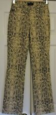 """Women's Size S Guess Size 27 Jeans Reptile Print 30"""" Inseam"""